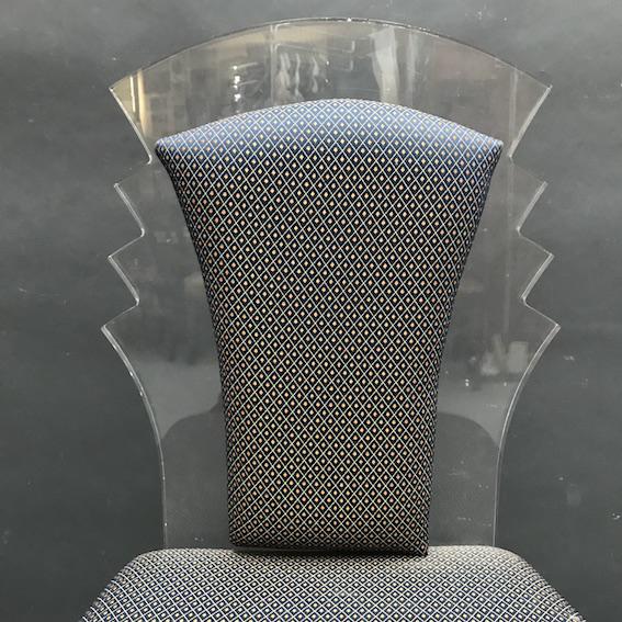 Immagine di sedia plexiglass