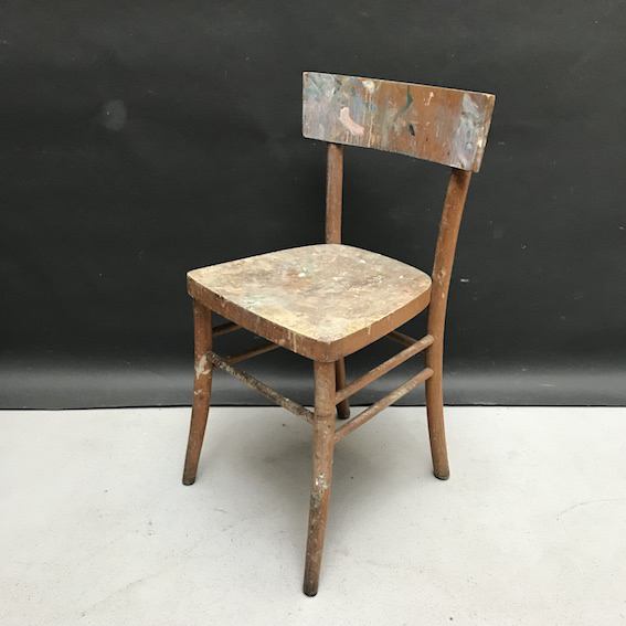 Picture of Wooden painter's chair